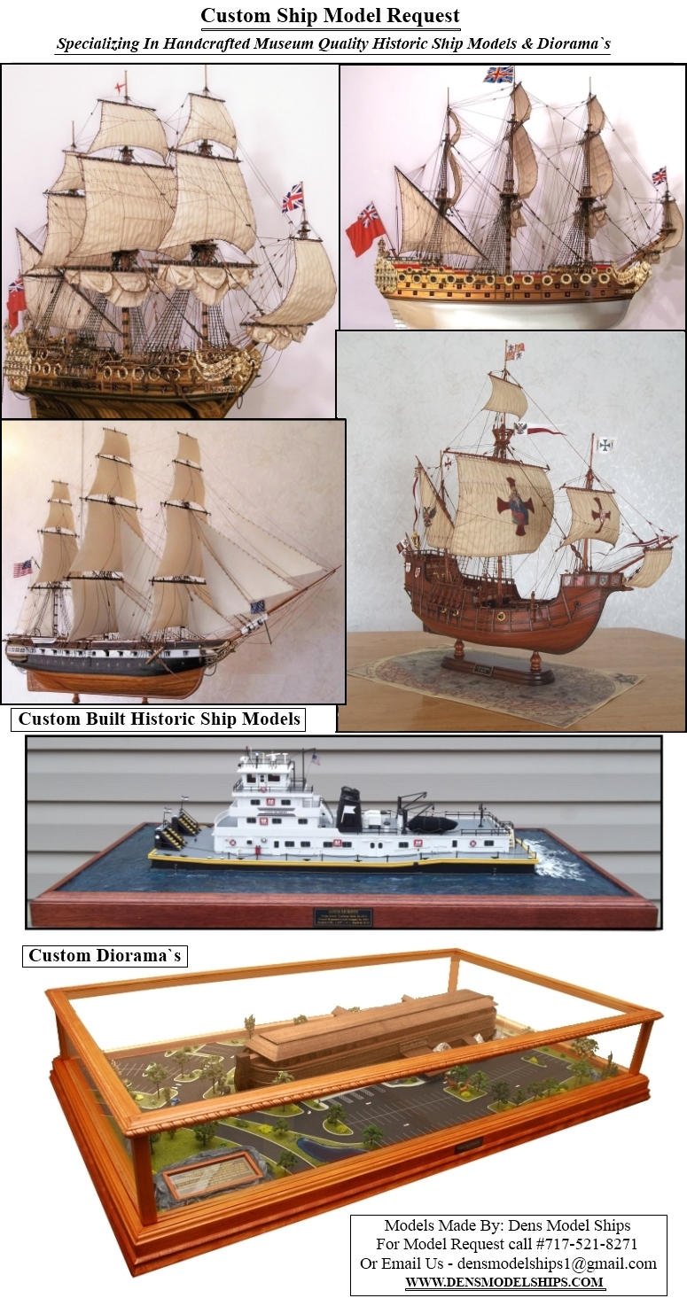Custom Built Ship Models