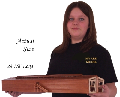 This is the actual size of the Ark