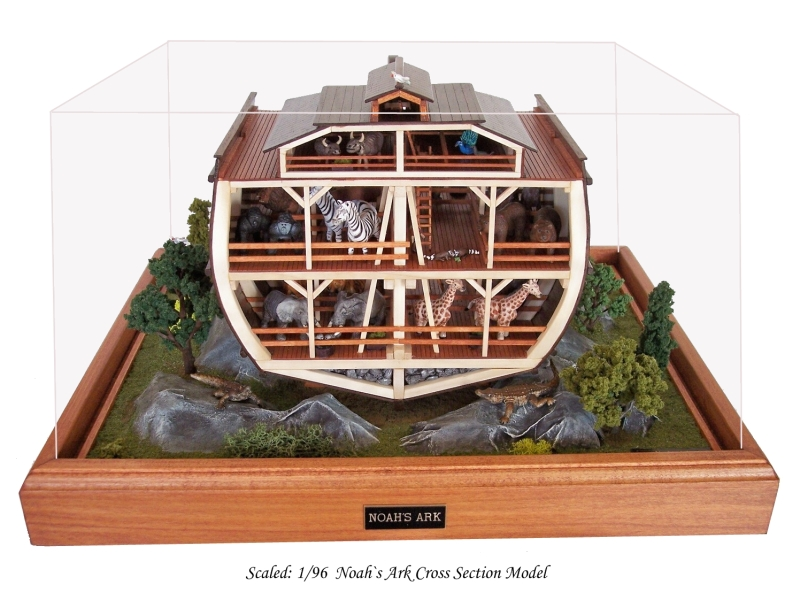 Scaled Noahs Ark Cross Section Model