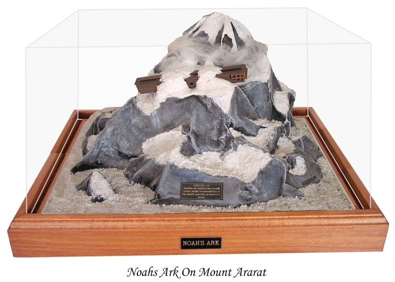 Noah`s Ark On Mount Ararat