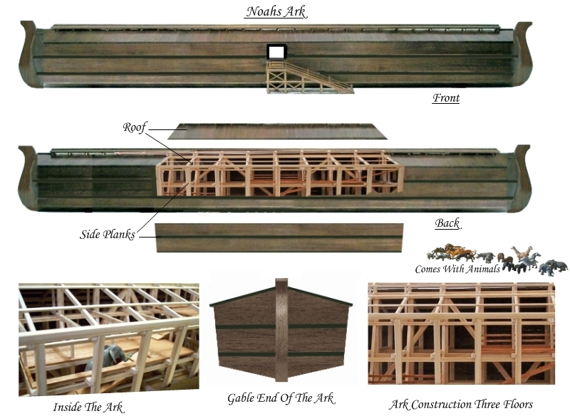 Biblical Rustic Ark Of Noah