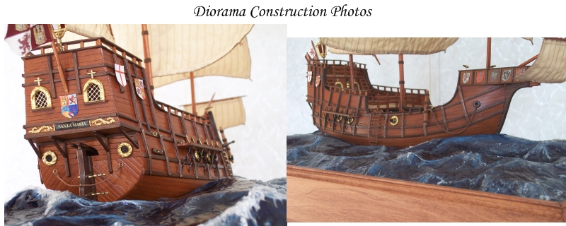 Diorama Construction Photos