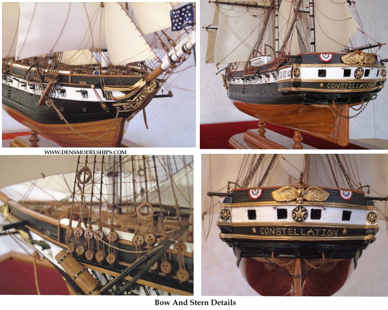 Bow And Stern Details