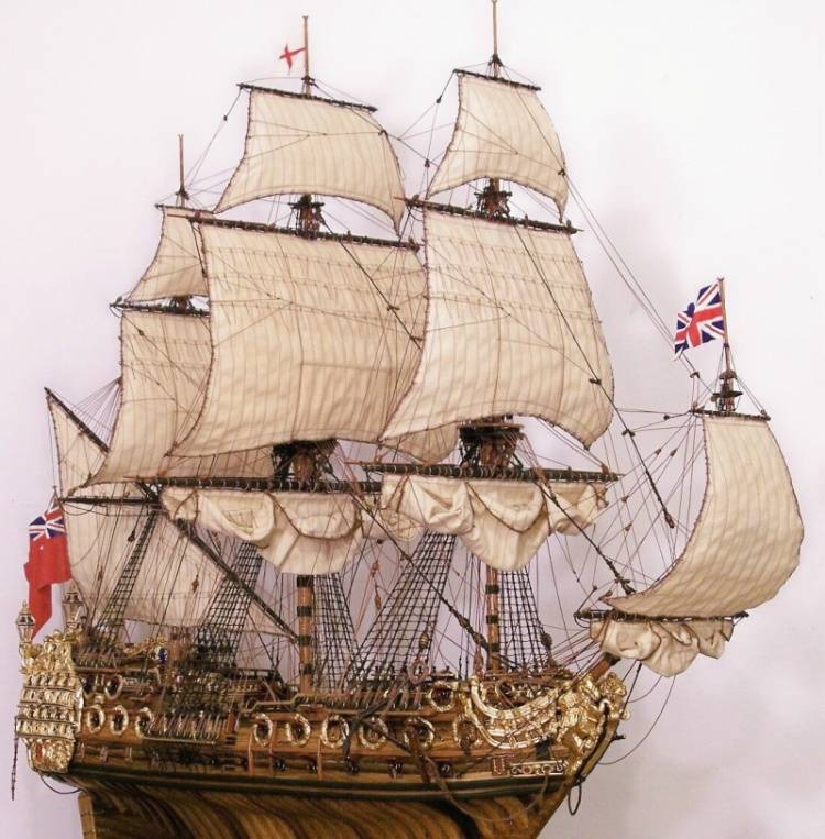 64 Gun British Warship click to purchase this model